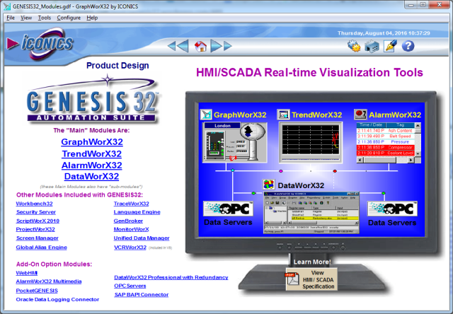 Gen32 Demo พี่เลี้ยงสอน Genesis32 Scada Genesis32